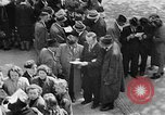 Image of German citizens view concentration camp Germany, 1945, second 47 stock footage video 65675054792