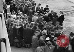Image of German citizens view concentration camp Germany, 1945, second 50 stock footage video 65675054792