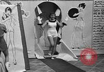 Image of fashion show Coral Gables Florida USA, 1935, second 20 stock footage video 65675055057