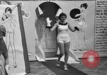 Image of fashion show Coral Gables Florida USA, 1935, second 21 stock footage video 65675055057