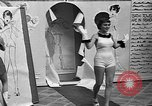 Image of fashion show Coral Gables Florida USA, 1935, second 22 stock footage video 65675055057