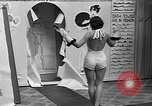 Image of fashion show Coral Gables Florida USA, 1935, second 23 stock footage video 65675055057