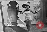 Image of fashion show Coral Gables Florida USA, 1935, second 24 stock footage video 65675055057