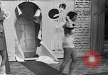 Image of fashion show Coral Gables Florida USA, 1935, second 25 stock footage video 65675055057