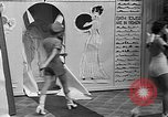 Image of fashion show Coral Gables Florida USA, 1935, second 26 stock footage video 65675055057