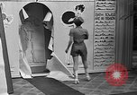 Image of fashion show Coral Gables Florida USA, 1935, second 27 stock footage video 65675055057