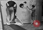 Image of fashion show Coral Gables Florida USA, 1935, second 29 stock footage video 65675055057