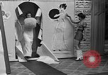 Image of fashion show Coral Gables Florida USA, 1935, second 30 stock footage video 65675055057