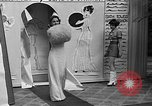 Image of fashion show Coral Gables Florida USA, 1935, second 32 stock footage video 65675055057
