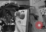 Image of fashion show Coral Gables Florida USA, 1935, second 37 stock footage video 65675055057