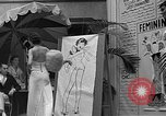 Image of fashion show Coral Gables Florida USA, 1935, second 38 stock footage video 65675055057