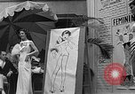 Image of fashion show Coral Gables Florida USA, 1935, second 40 stock footage video 65675055057