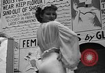 Image of fashion show Coral Gables Florida USA, 1935, second 47 stock footage video 65675055057