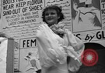 Image of fashion show Coral Gables Florida USA, 1935, second 48 stock footage video 65675055057