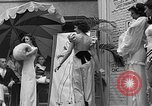 Image of fashion show Coral Gables Florida USA, 1935, second 52 stock footage video 65675055057