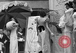 Image of fashion show Coral Gables Florida USA, 1935, second 53 stock footage video 65675055057