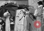 Image of fashion show Coral Gables Florida USA, 1935, second 54 stock footage video 65675055057