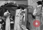 Image of fashion show Coral Gables Florida USA, 1935, second 55 stock footage video 65675055057