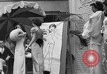 Image of fashion show Coral Gables Florida USA, 1935, second 56 stock footage video 65675055057