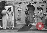 Image of fashion show Coral Gables Florida USA, 1935, second 57 stock footage video 65675055057