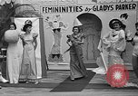 Image of fashion show Coral Gables Florida USA, 1935, second 58 stock footage video 65675055057