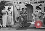 Image of fashion show Coral Gables Florida USA, 1935, second 59 stock footage video 65675055057