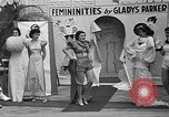 Image of fashion show Coral Gables Florida USA, 1935, second 60 stock footage video 65675055057