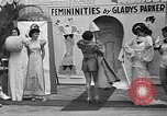 Image of fashion show Coral Gables Florida USA, 1935, second 61 stock footage video 65675055057