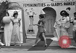 Image of fashion show Coral Gables Florida USA, 1935, second 62 stock footage video 65675055057