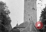 Image of famous buildings Rothenburg on the Tauber Germany, 1937, second 10 stock footage video 65675055449