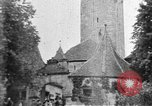 Image of famous buildings Rothenburg on the Tauber Germany, 1937, second 13 stock footage video 65675055449