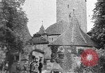 Image of famous buildings Rothenburg on the Tauber Germany, 1937, second 14 stock footage video 65675055449