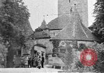 Image of famous buildings Rothenburg on the Tauber Germany, 1937, second 15 stock footage video 65675055449