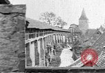 Image of famous buildings Rothenburg on the Tauber Germany, 1937, second 18 stock footage video 65675055449