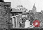 Image of famous buildings Rothenburg on the Tauber Germany, 1937, second 24 stock footage video 65675055449