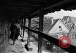 Image of famous buildings Rothenburg on the Tauber Germany, 1937, second 32 stock footage video 65675055449
