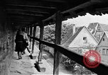 Image of famous buildings Rothenburg on the Tauber Germany, 1937, second 33 stock footage video 65675055449