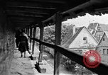 Image of famous buildings Rothenburg on the Tauber Germany, 1937, second 35 stock footage video 65675055449