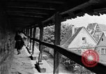 Image of famous buildings Rothenburg on the Tauber Germany, 1937, second 37 stock footage video 65675055449
