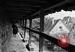 Image of famous buildings Rothenburg on the Tauber Germany, 1937, second 38 stock footage video 65675055449