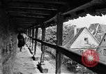 Image of famous buildings Rothenburg on the Tauber Germany, 1937, second 39 stock footage video 65675055449