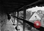 Image of famous buildings Rothenburg on the Tauber Germany, 1937, second 40 stock footage video 65675055449