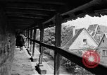 Image of famous buildings Rothenburg on the Tauber Germany, 1937, second 41 stock footage video 65675055449