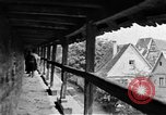 Image of famous buildings Rothenburg on the Tauber Germany, 1937, second 42 stock footage video 65675055449