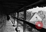 Image of famous buildings Rothenburg on the Tauber Germany, 1937, second 43 stock footage video 65675055449