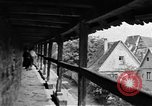 Image of famous buildings Rothenburg on the Tauber Germany, 1937, second 44 stock footage video 65675055449
