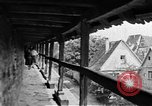 Image of famous buildings Rothenburg on the Tauber Germany, 1937, second 46 stock footage video 65675055449