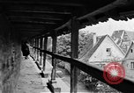 Image of famous buildings Rothenburg on the Tauber Germany, 1937, second 48 stock footage video 65675055449