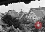 Image of famous buildings Rothenburg on the Tauber Germany, 1937, second 50 stock footage video 65675055449