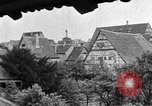 Image of famous buildings Rothenburg on the Tauber Germany, 1937, second 52 stock footage video 65675055449